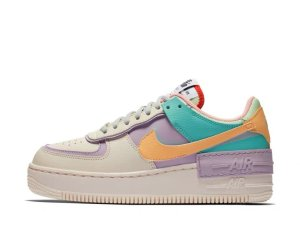 NIKE Air Force 1 Shadow Macaron Stitching Candy