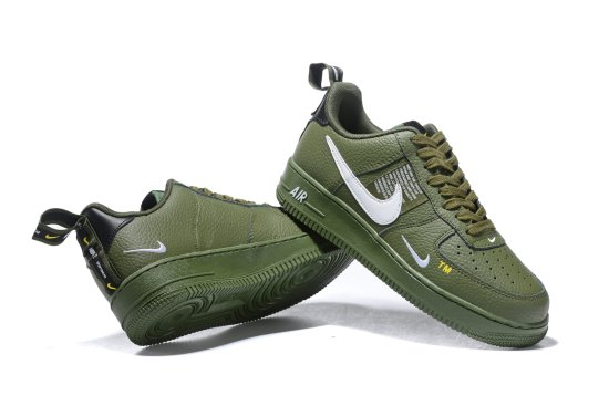 NIKE Air Force 1 Verde Militar 1 scaled