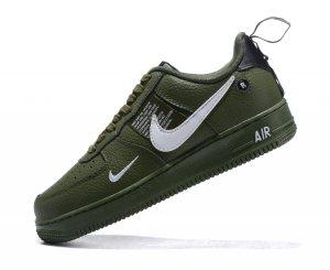 NIKE Air Force 1 Verde Militar