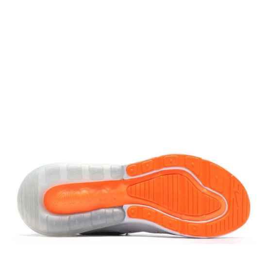 NIKE Air Max 270 Blancas y Naranjas 2
