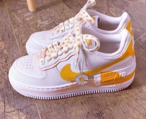 Nike Air Force 1 Shadow Naranjas-Rosas
