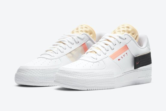 Nike Air Force 1 Type White Melon Tint 1