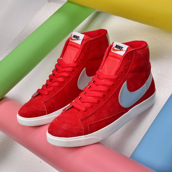Nike Blazer Mid 77 Red 3