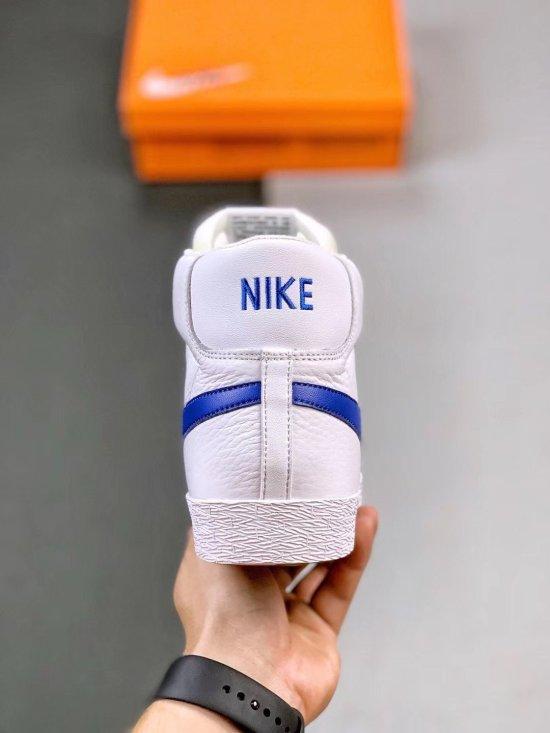 Nike Blazer Mid Retro WhiteTeam Blue 2
