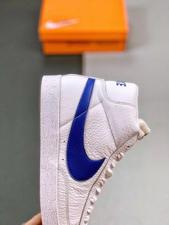 Nike Blazer Mid Retro WhiteTeam Blue 3