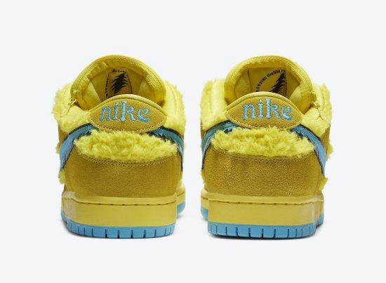 Nike SB Dunk Low Grateful Dead Bears Opti Yellow 4