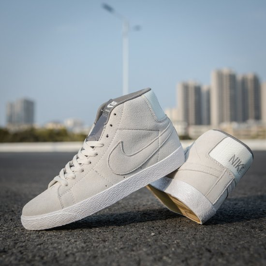 Nike SB Zoom Blazer Mid Gris 4