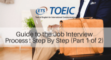 Guide to the Job Interview Process : Step By Step (Part 1 of 2)