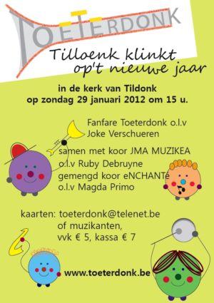 Concert Toeterdonk Klinkt 2012