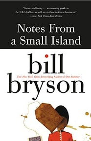 travel books notes from a small island