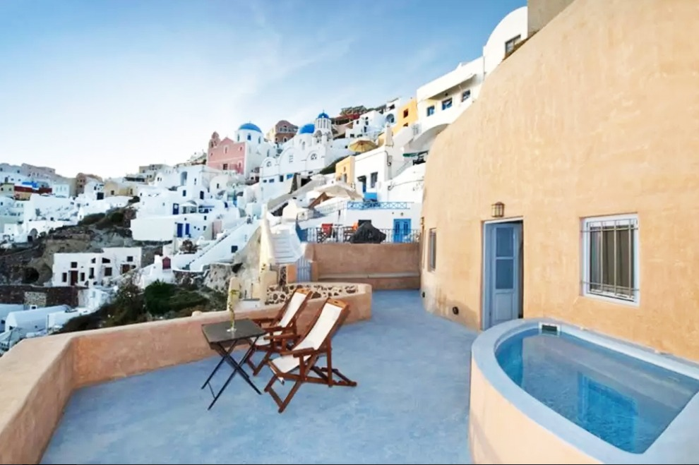 airbnbs in europe santorini greece