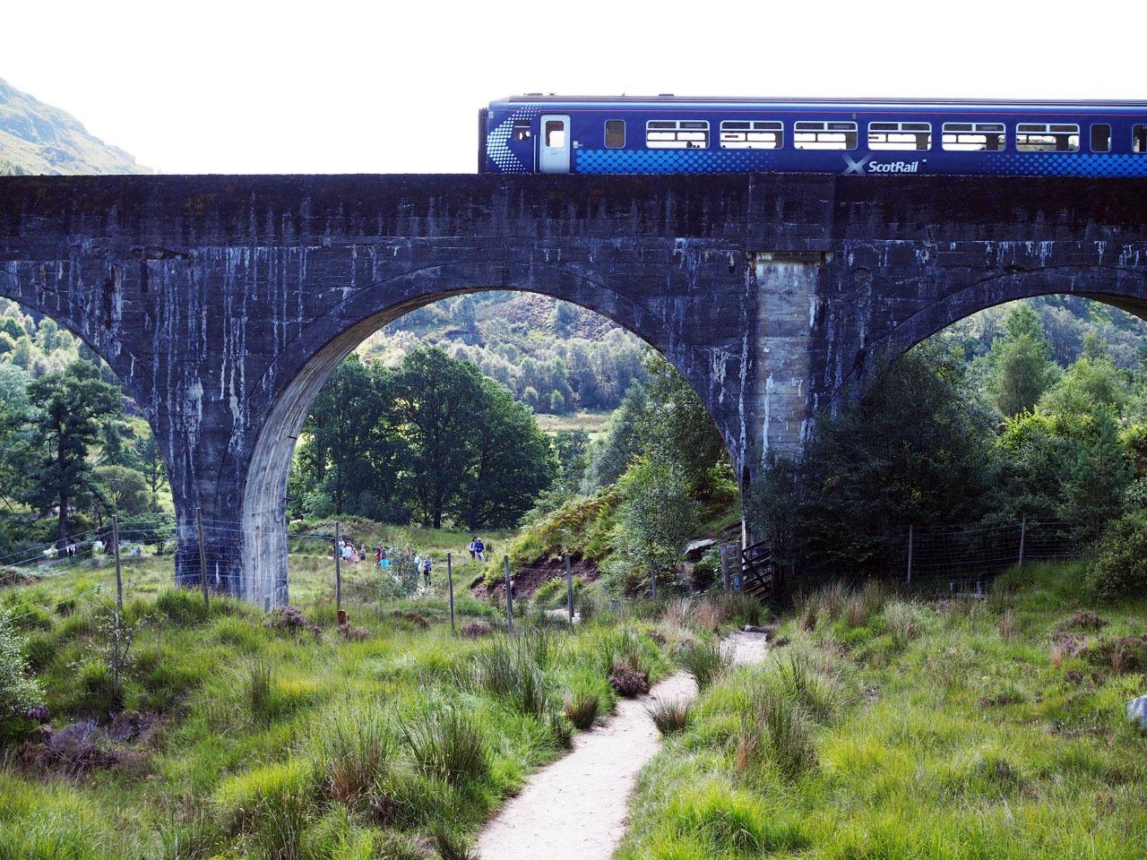 Harry Potter Train in Scotland