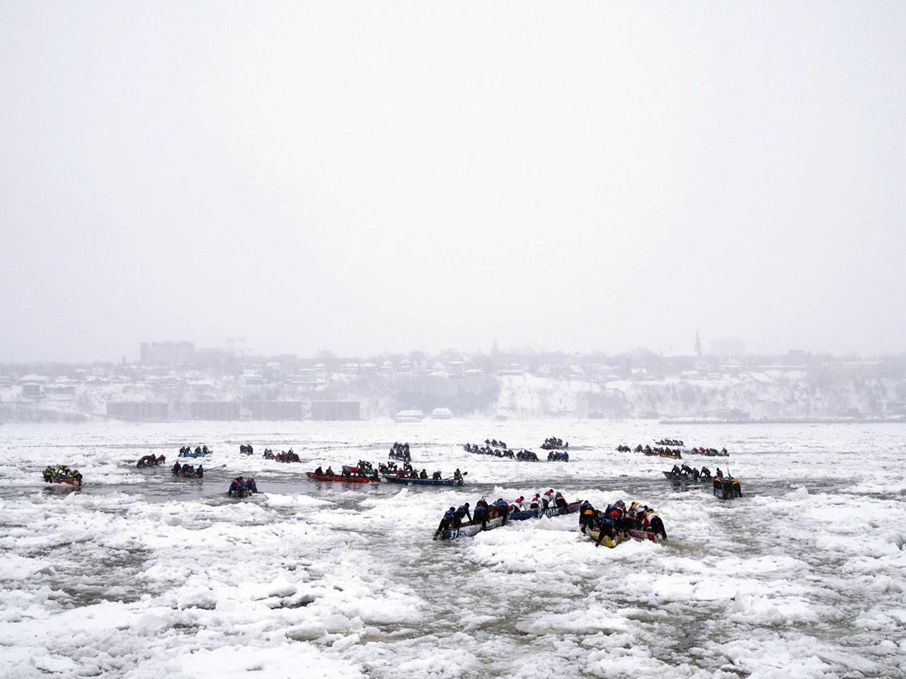 Quebec City in Winter
