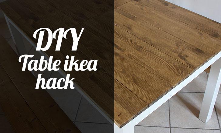 Diy Table Ikea Hack Tfab Blog
