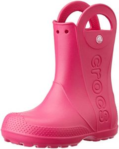 Crocs Kids' Handle-it Rain Boot Shoe