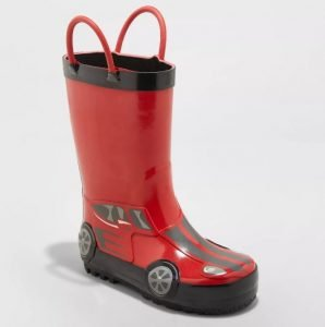Lincoln Rain Boots - Red