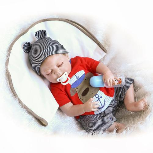 23″ Cute Full Simulation Silicone Baby
