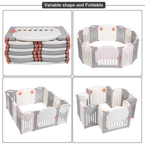 Baby Folding Safety Play Yard – Indoor Outdoor