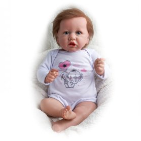 "22"" Realistic Baby Doll – Cloth Body"