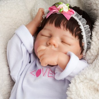 17'' Realistic Baby Doll - Cloth body