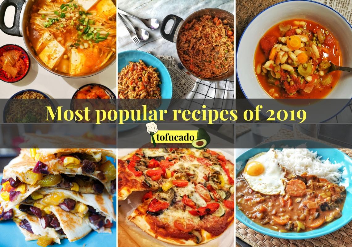 Most popular recipes of 2019