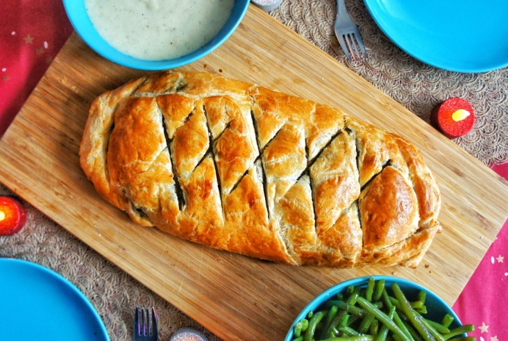 Featured picture veggie wellington
