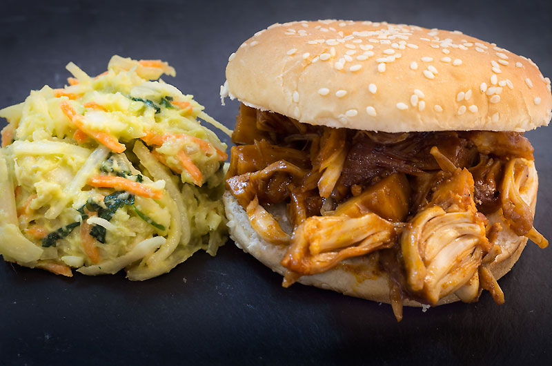 Jackfrucht (Jack Fruit) Pulled Pork vegan