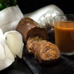 Seitanbraten mit Aprikosen-Maronen-Füllung