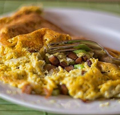 Veganes Omelett