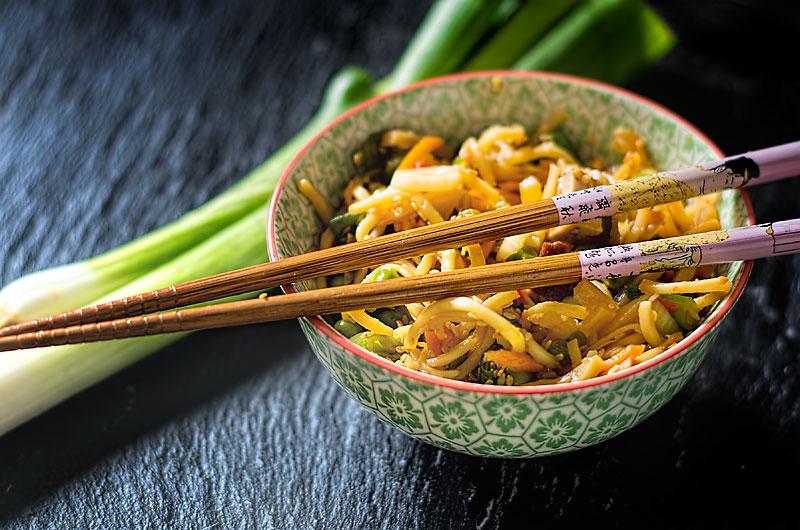 Abbildung von Nudelsalat Asia Style