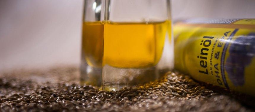 Leinöl-Bärlauch-Pesto