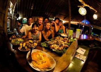 Dinner at Togat Nusa