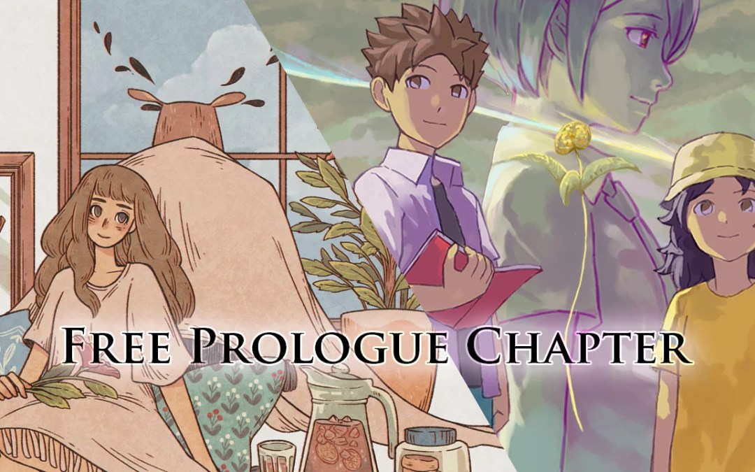 A Space for the Unbound and When the Past was Around Gets a Free Prologue Chapter