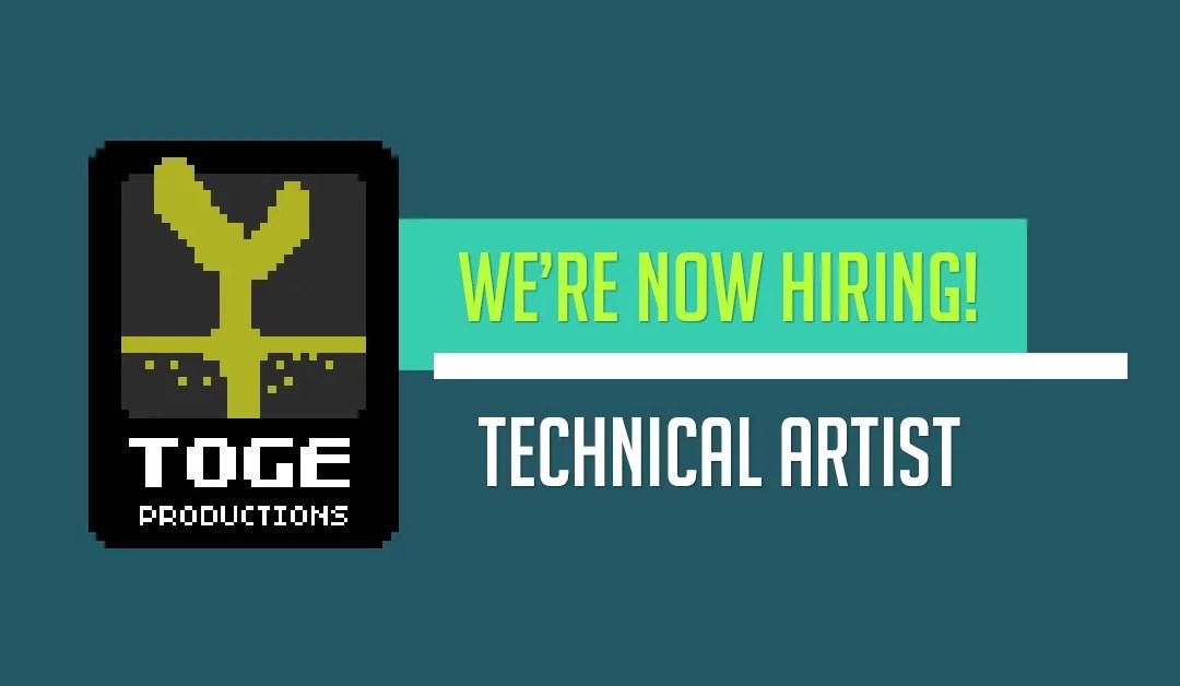Full-Time: Technical Artist