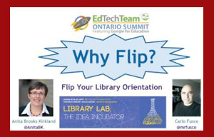 Flip Your Library Orientation