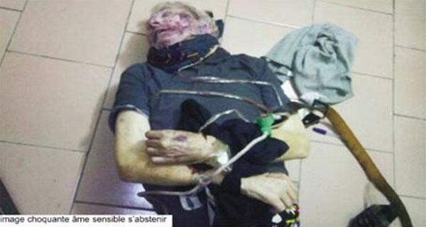 Un vieux expatrié blanc sauvagement tué chez lui à Totsi, Lomé   Photo : L'Indépendant Express