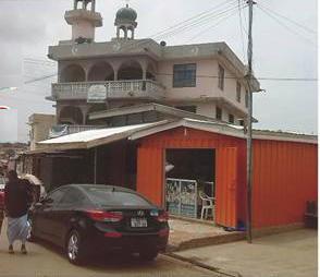 Un des mosquées au quartier Nima à Accra au Ghana qui accueille les candidats | Photo : Liberté