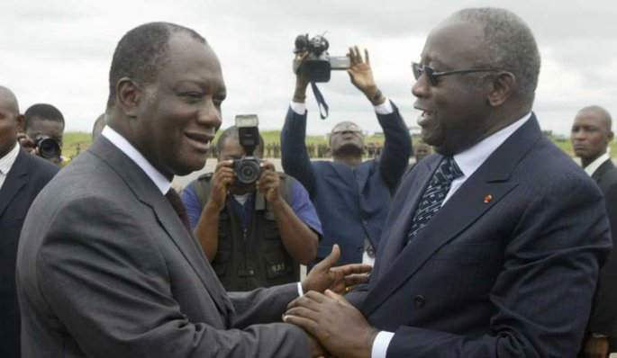 Alassane-Ouattara-et-Laurent-Gbagbo_articlephoto