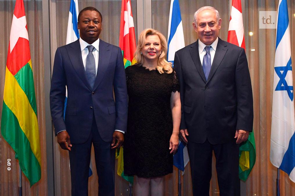 """Résultat de recherche d'images pour """"netanyahu and gnassingbe"""""""