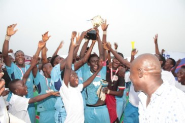Tournoi Made in Togo: Liberty Sport d'Agbodrafo s'adjuge le trophée