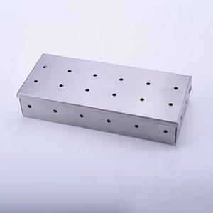 RVS roestvrij staal rooksnippers rookbox voor de barbeque pulled prok spareribs togoodtobefood gefileerd sam