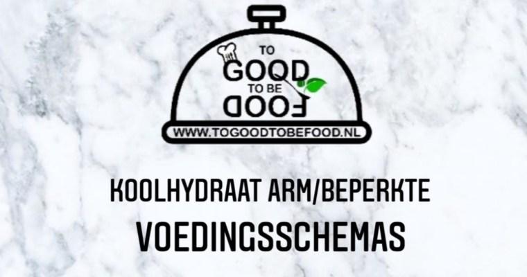 Koolhydraat arm/beperkte voedingsschema's