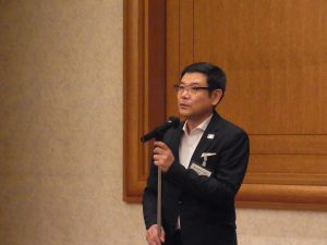 東京販売士協会/大島会長の挨拶