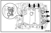 Toyota Highlander Service Manual Transmission Valve Body