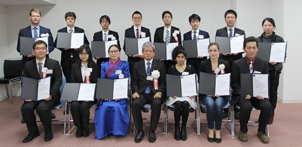 News - International Students Receive the 2018 President's ...