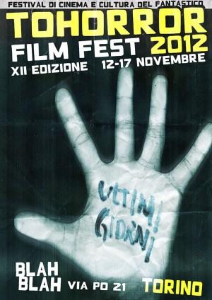Locandina TOHorror Film Fest 2012