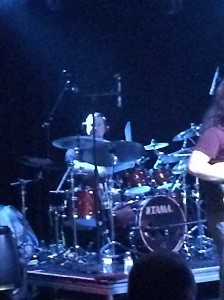 There's no physical exercise you could do to drum as well as Sean Reinert, so don't even try.