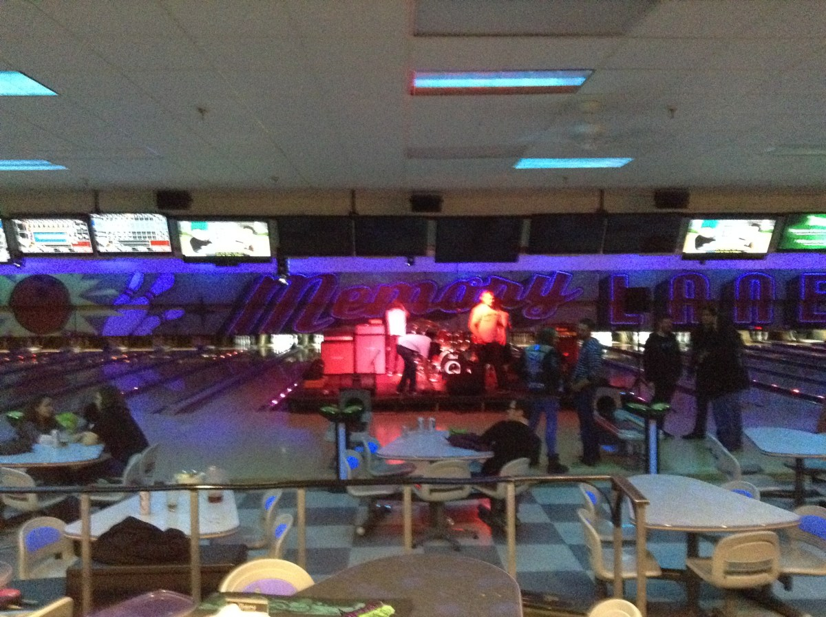 Spoiler #2: Memory Lanes is actually a bowling alley.