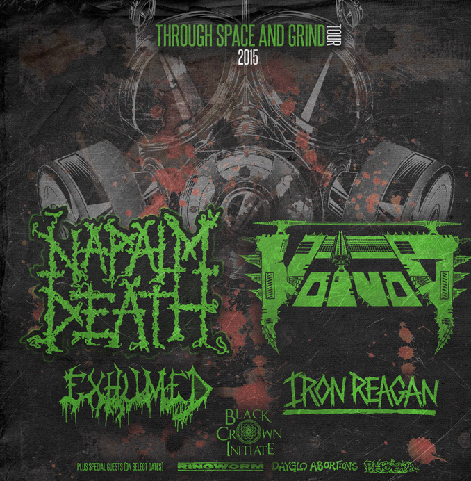 Napalm Death Tour