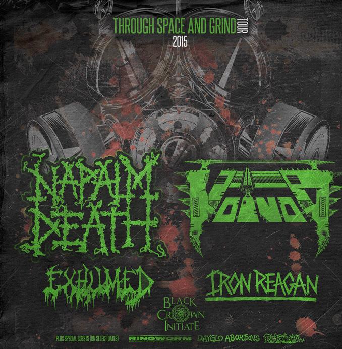 Napalm Death Tour